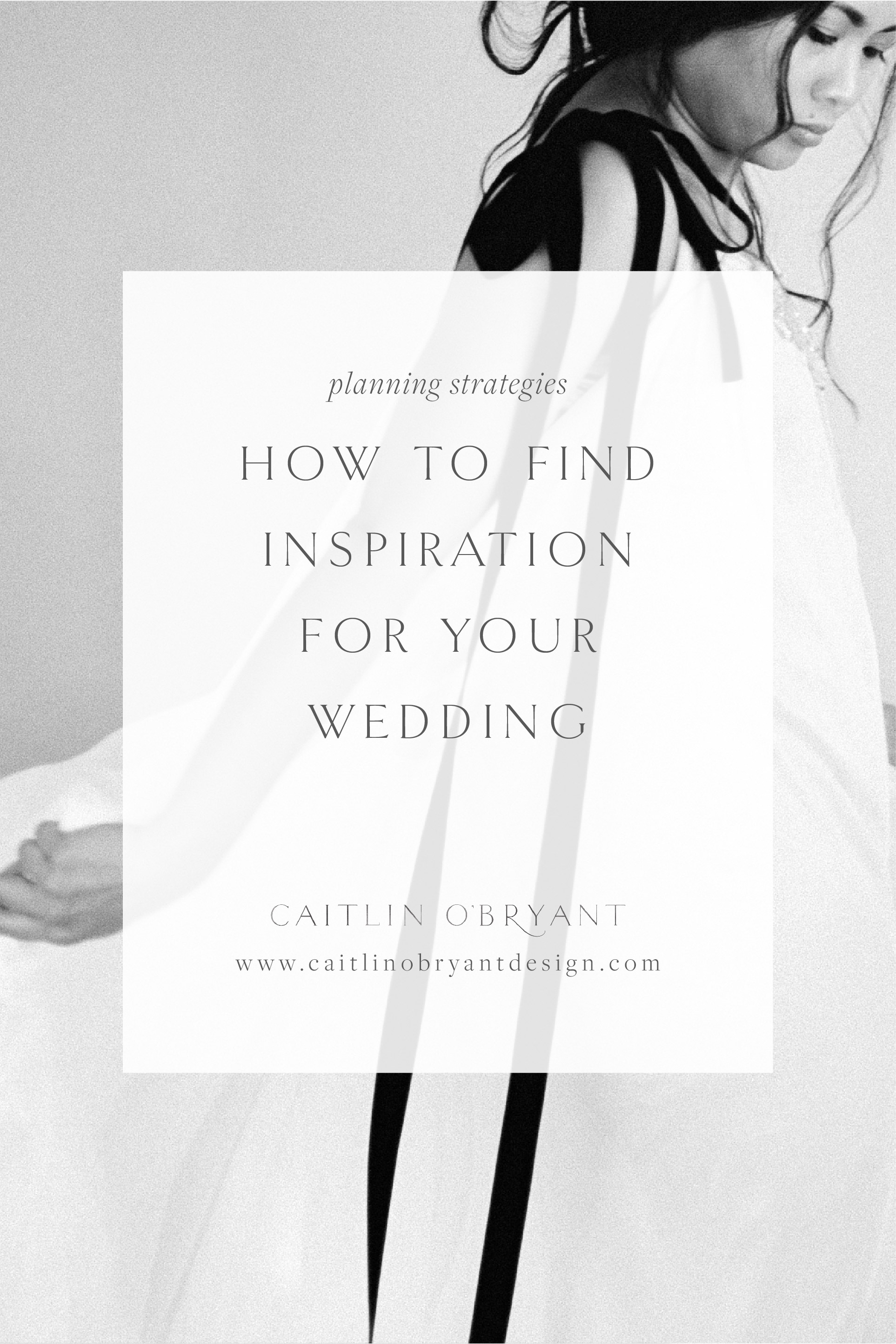 How to find inspiration for your wedding. Pinterest and social media strategies for finding wedding inspiration and turning it into a one-of-a-kind event.
