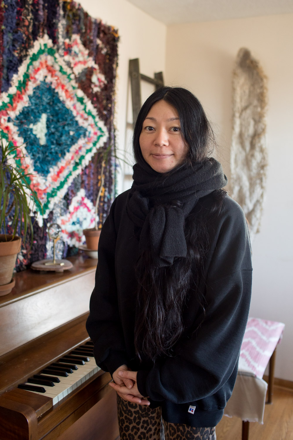 "MIDORI HIROSE - ""A lot of my work involves things that are always present but are usually overlooked, so I really wanted to engage with people in the community who weren't prominent"""