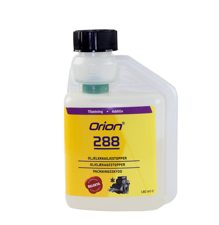 Orion 288 can repair oil leaks, prevent downtime and expensive repairs.