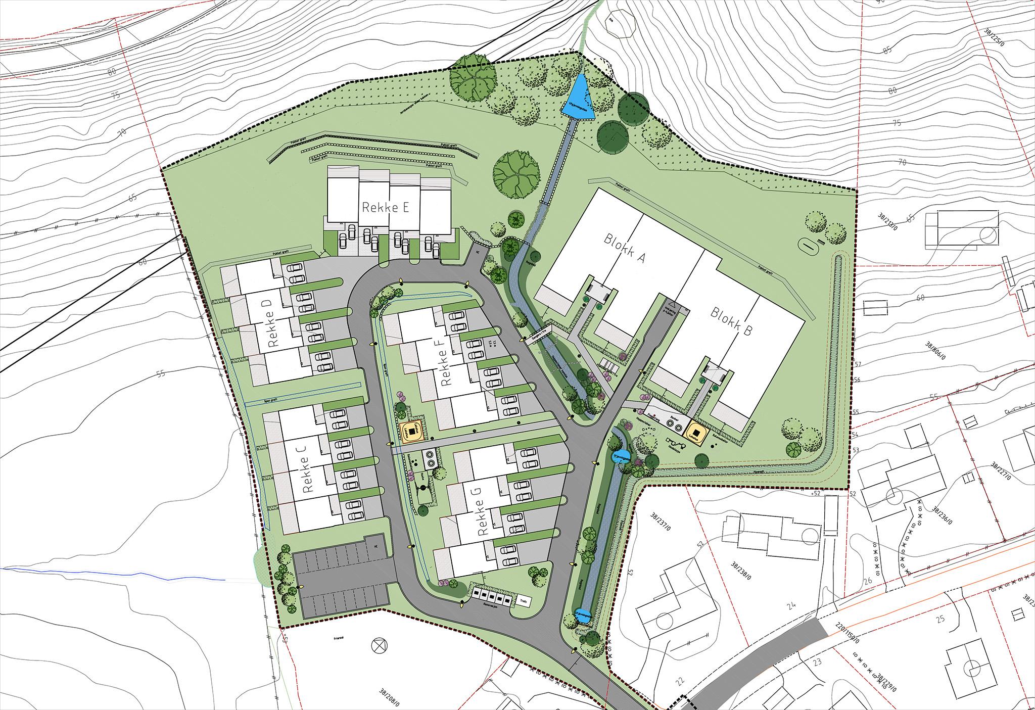 Landscape plan by SSAS