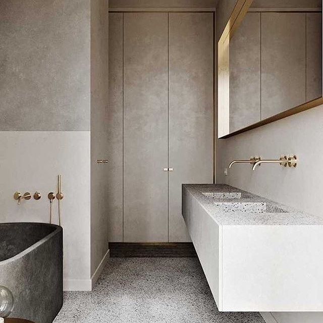 📷@neutralinstinct Bathroom goals!! 🤗🙌🖤 #bathroomdesigner #bathroomdesign #goldcoastdesigner #instagood #instadaily #photooftheday #like4like #interiordesign #interiorspace #homedecor #interiorinspiration #dreamhome #bathroomgoals #myspace #interiordesign #bathroomdecor #bathroomsofinstagram #bathroomsofinsta #picoftheday #dreamkitchen #modernhome #dreamhome #interiorlovers #thomasbernardconcepts