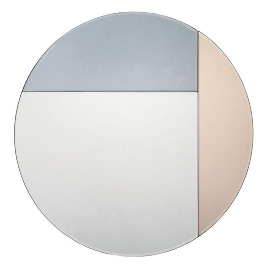 Thalia round mirror in grey and rose gold.jpg
