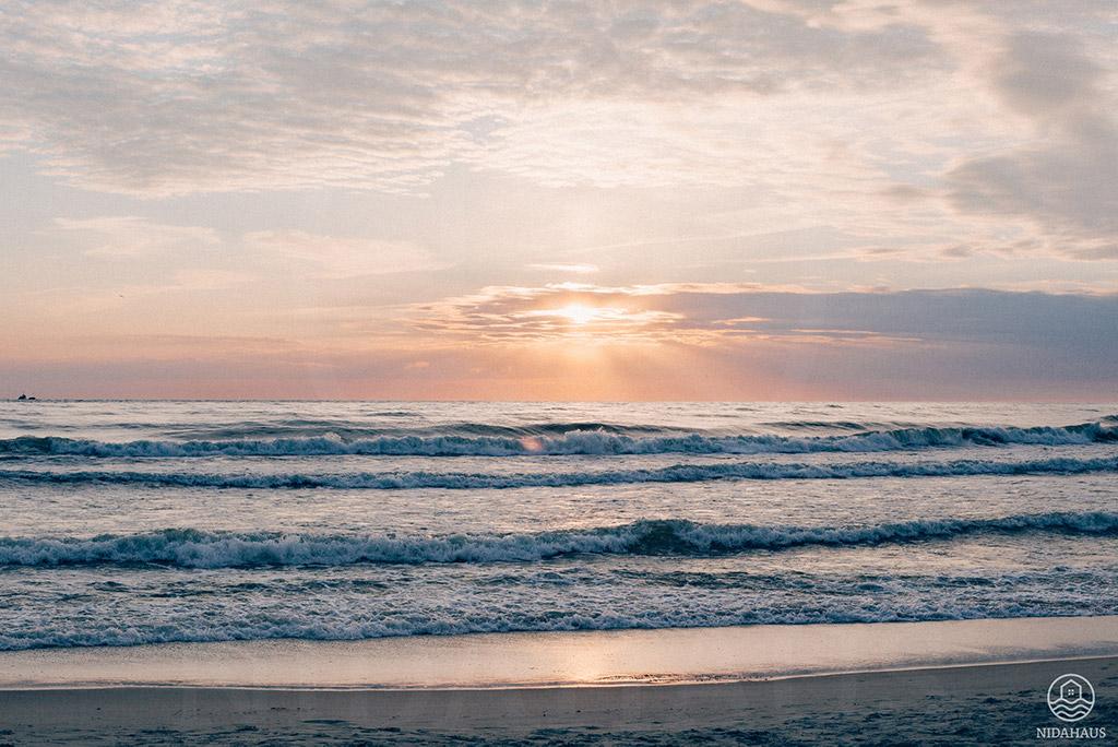 Strandurlaub im Baltikum - Die Ostsee in Nidden (Nida) | NIDAHAUS, Kurische Nehrung, Litauen