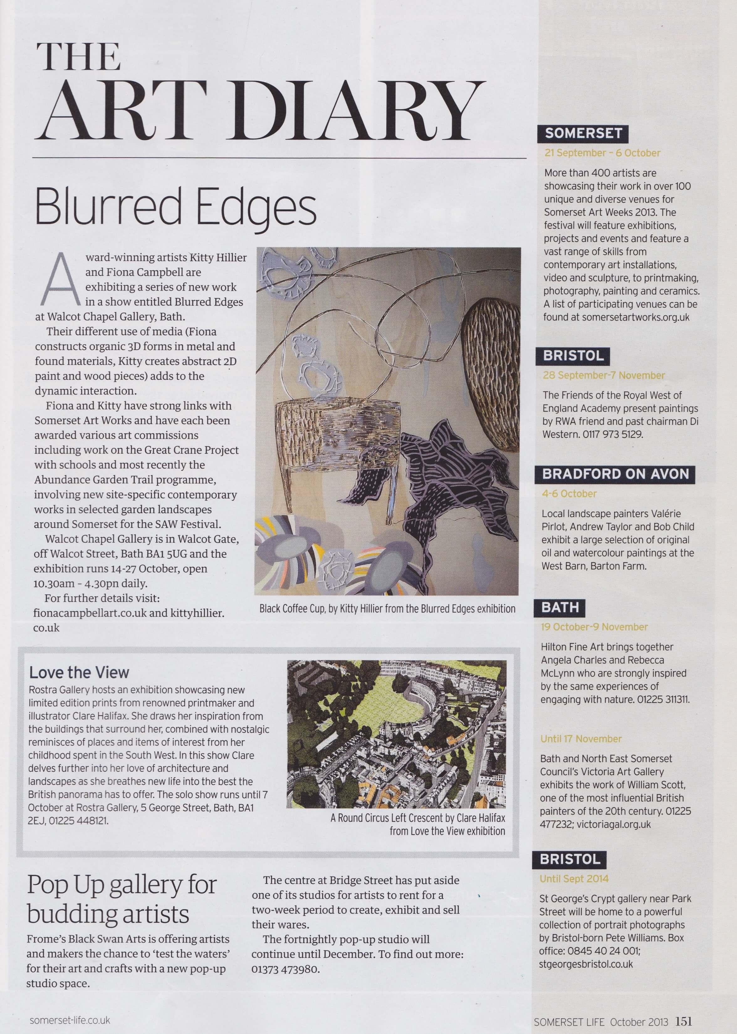 Blurred Edges - Somerset Life