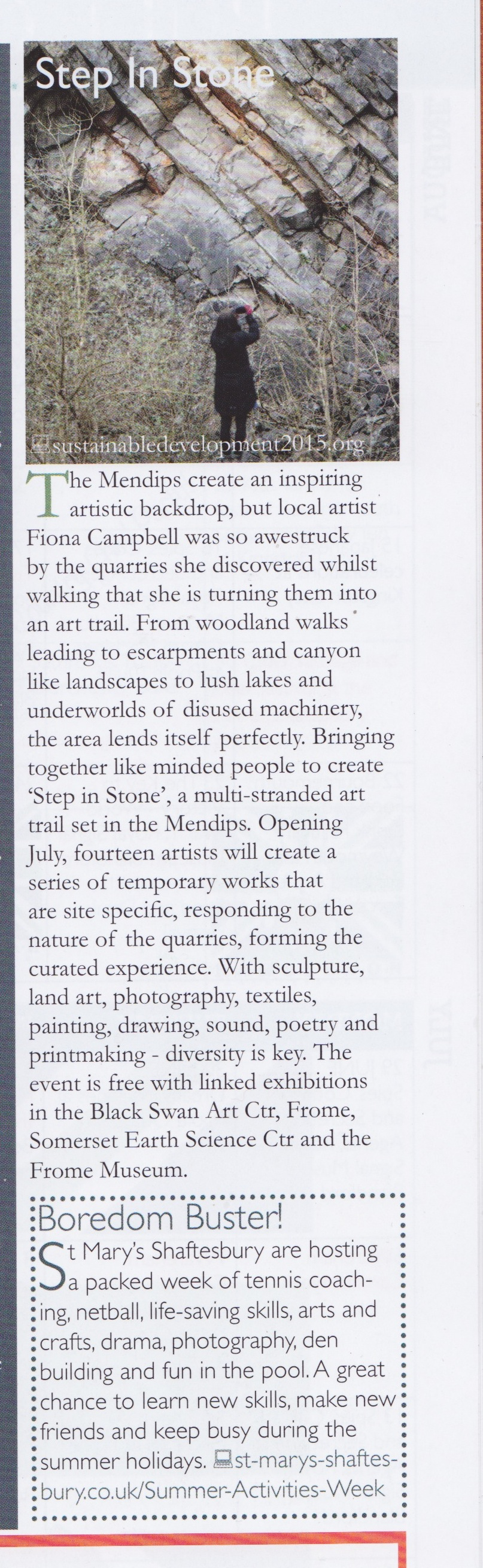 Country Child Magazine, May '15