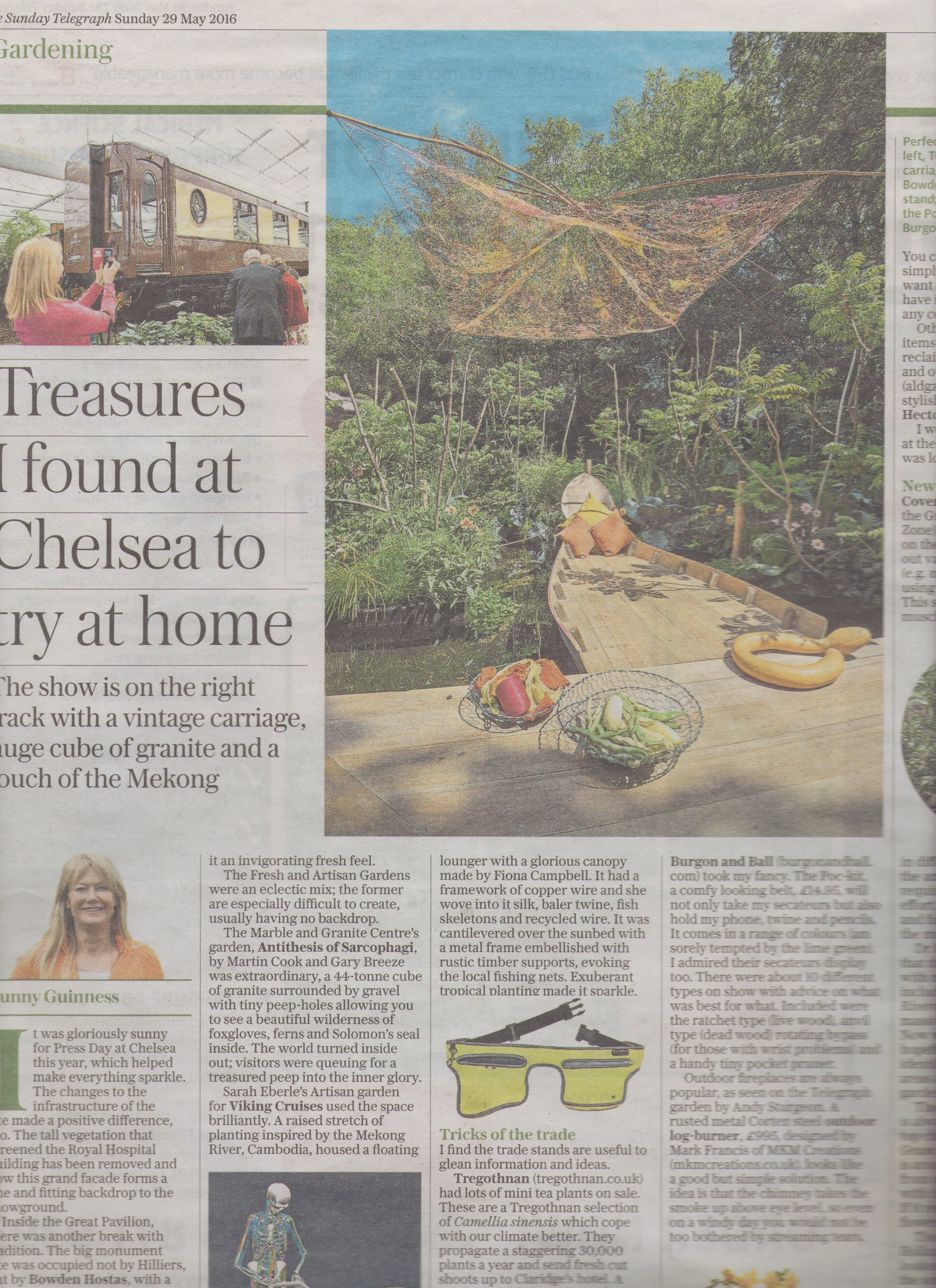 Sunday Telegraph 29 May 16
