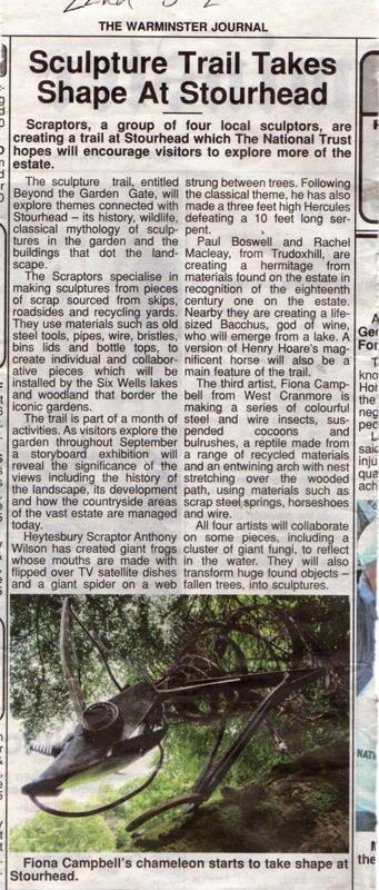 Warminster Journal July 22nd 2011