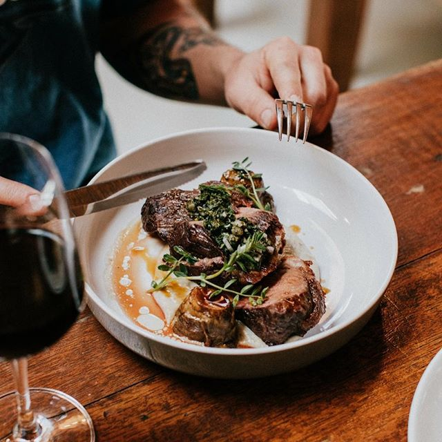 Lamb Rump for lunch? Served between 12 and 4pm every weekend. #mrbusbys