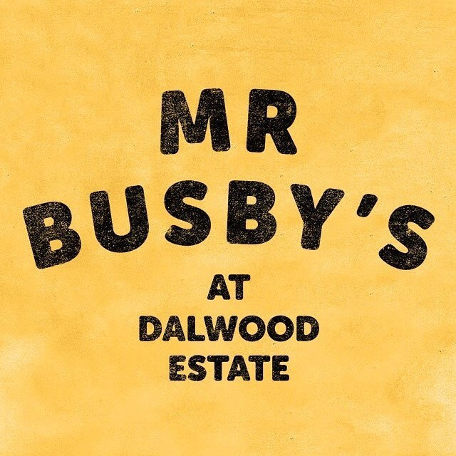Mr Busby's is taking a little break and won't be trading this weekend. We'll be back for the Dalwood Markets on Feb 10. See you then!