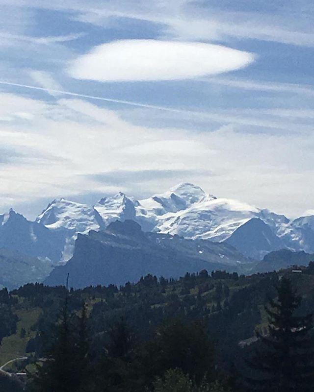 Le Mont Blanc from #lesgets - magic