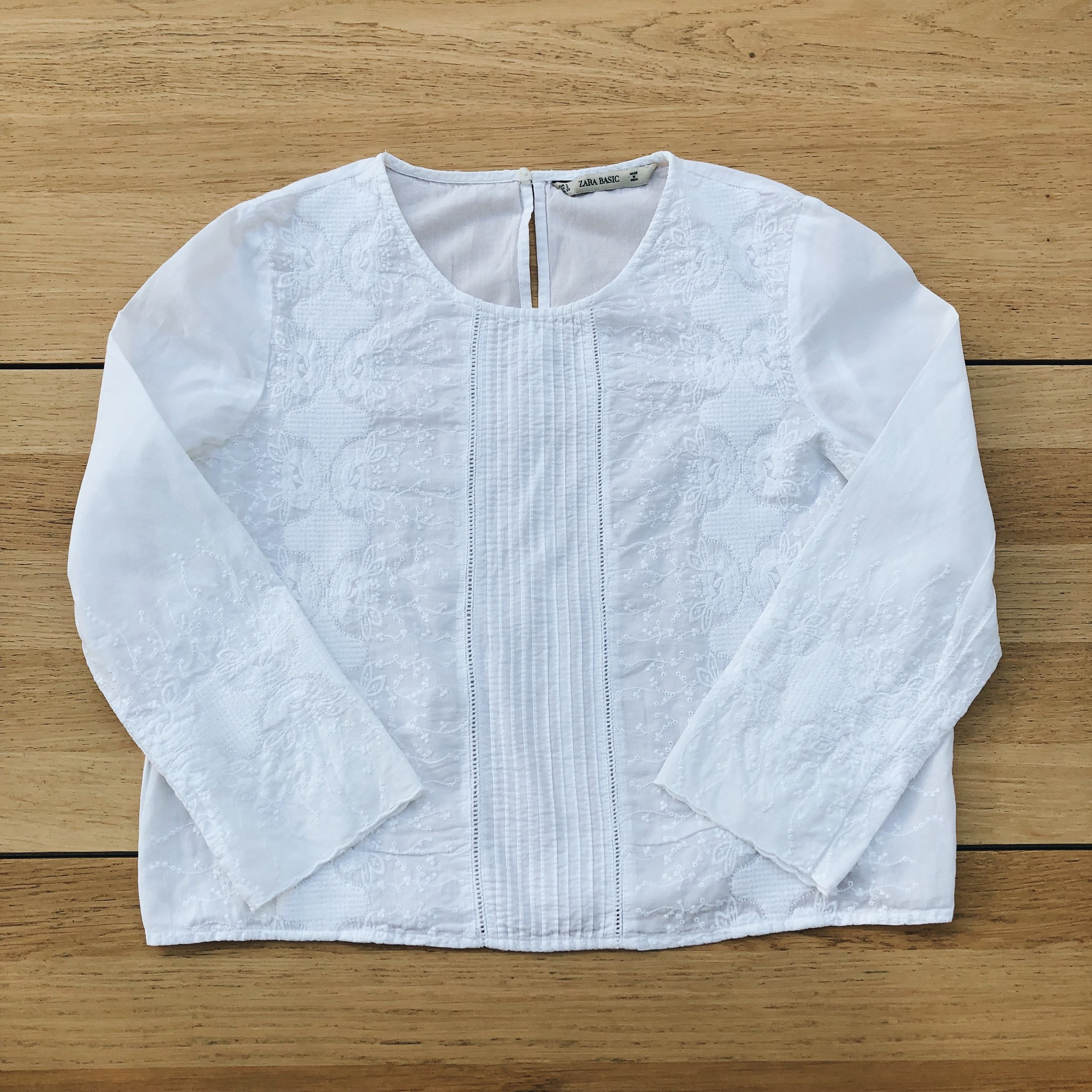 The 'boxy' fit of my Zara blouse