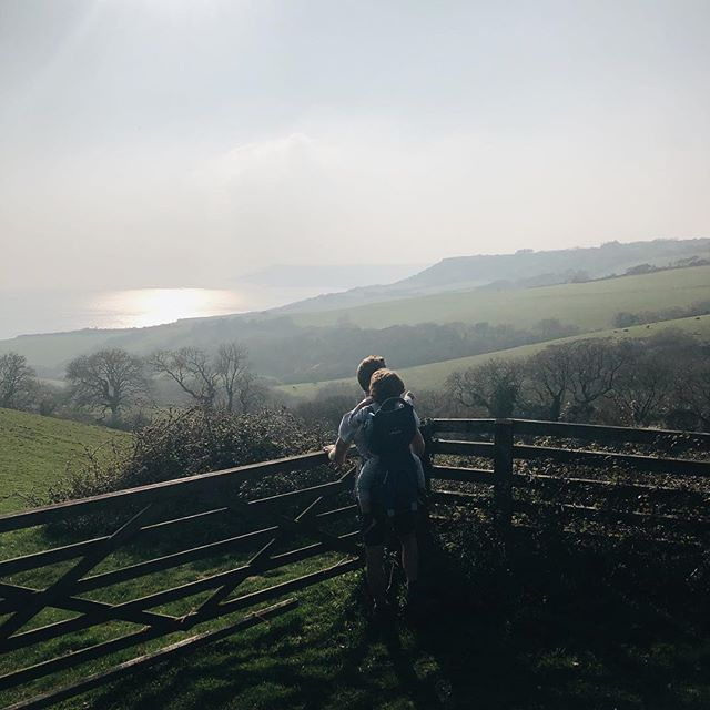 Oh Dorset, you have our hearts ❤️ One from the weekend at Stonebarrow Hill - a new discovery for us. How was your weekend?