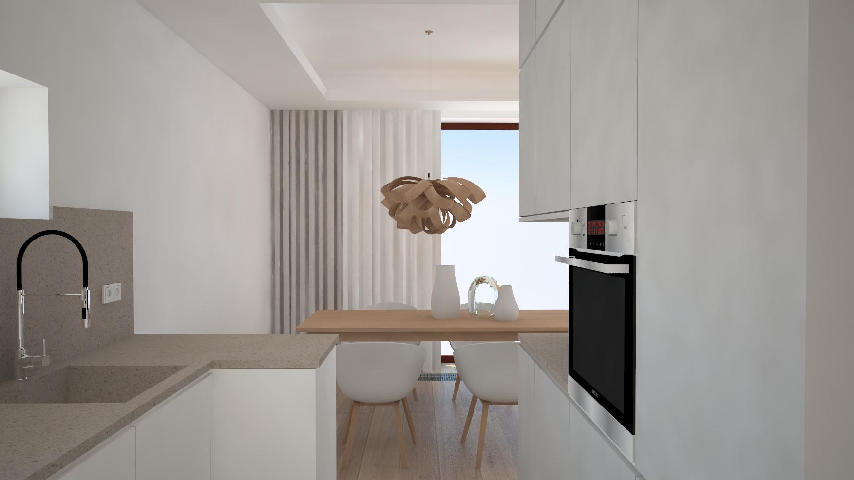 widok jadalni z kuchni-dekoracje okienne-styl minimalistyczny.jpg