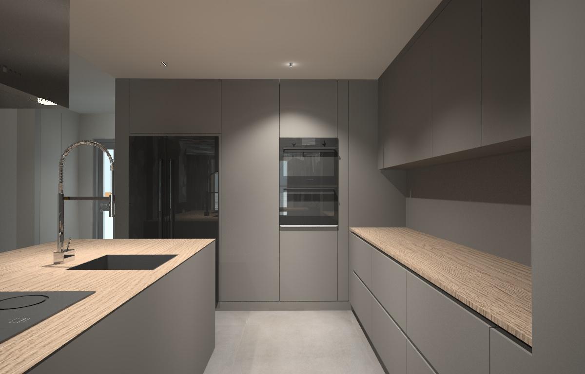 projektowana kuchnia- szarość z drewnem.jpg