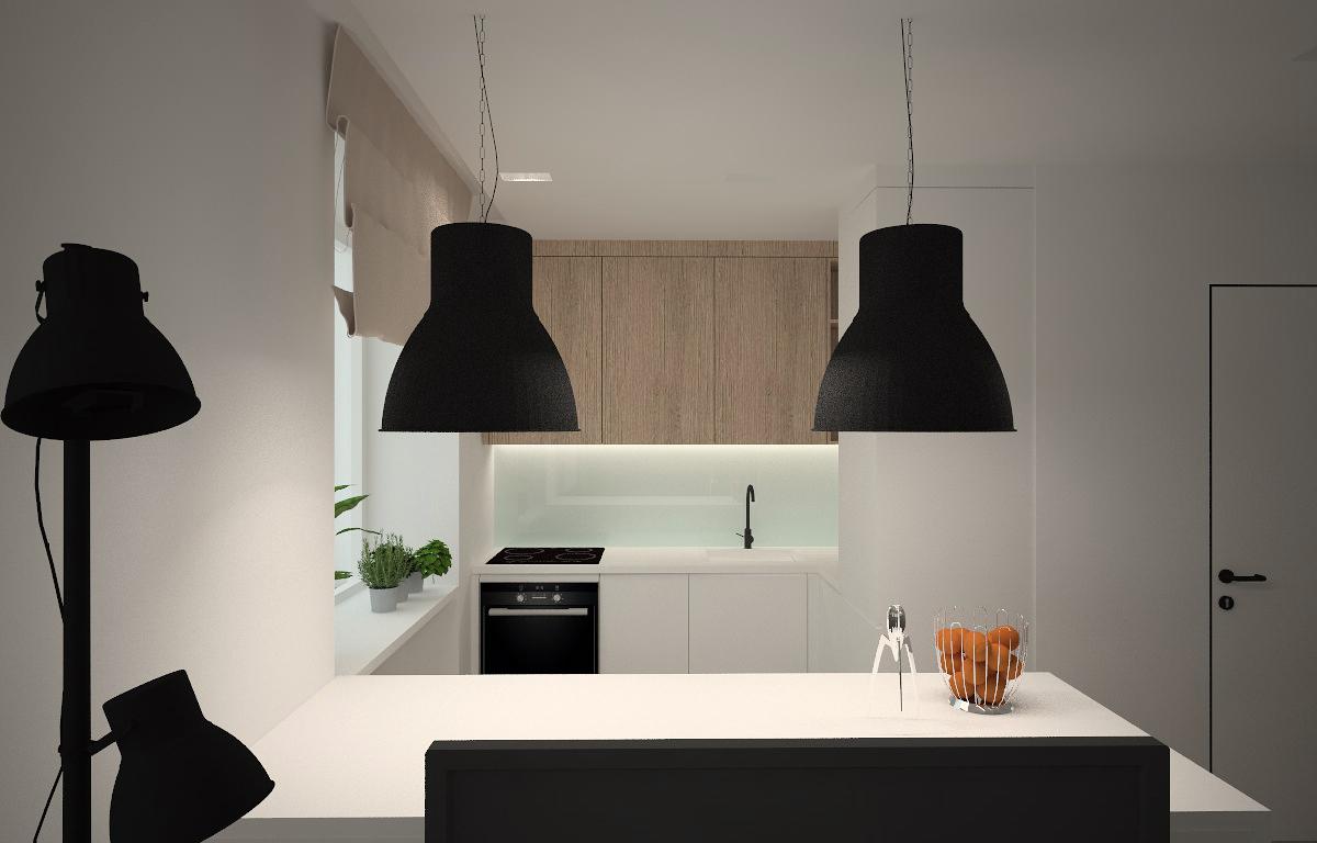 widok kuchni-biel-lampy ikea.jpg