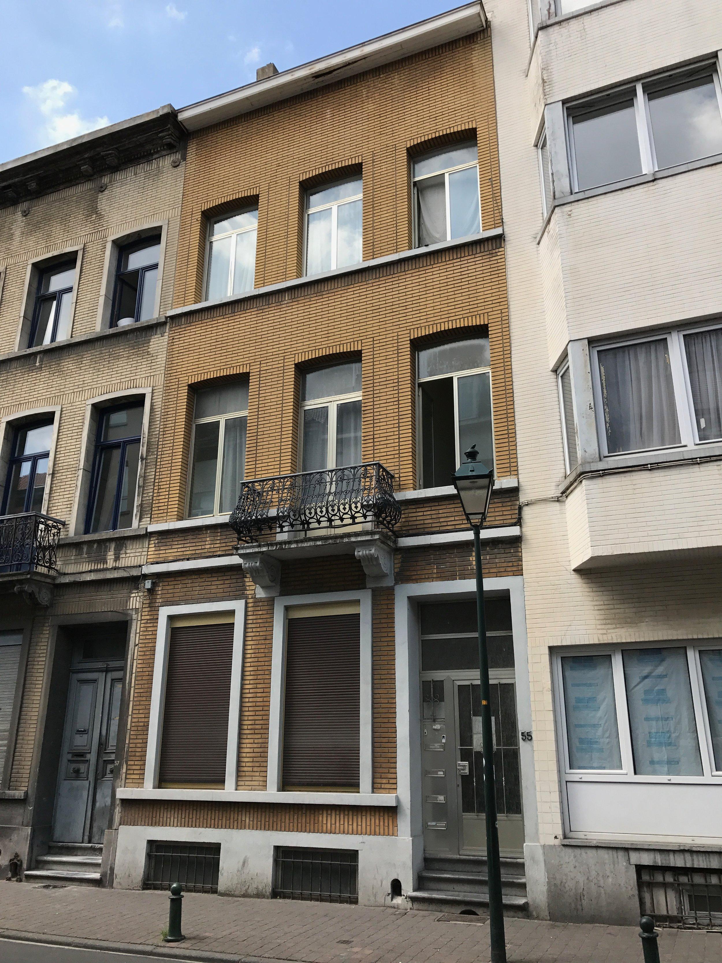 rénovation immeuble / Saint-Gilles