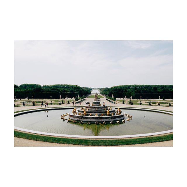 ⛲️ Bassin de Latone ⛲️ #gold #fountain #garden #perspective #versailles