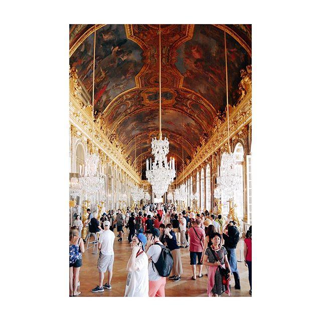 💎Galerie des Glaces💎 #hall #mirror #glass #castle #versailles #louisxiv #architecture