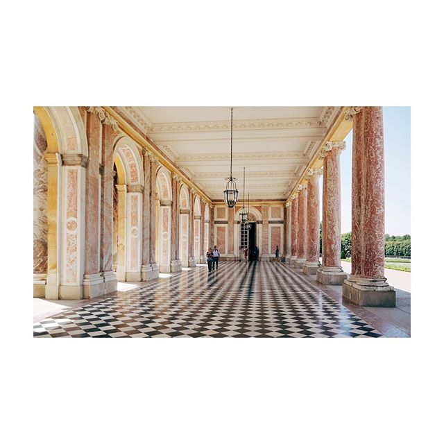 🌸 Le Grand Trianon 🌸  #trianon #palace #pink #marble #architecture #versailles