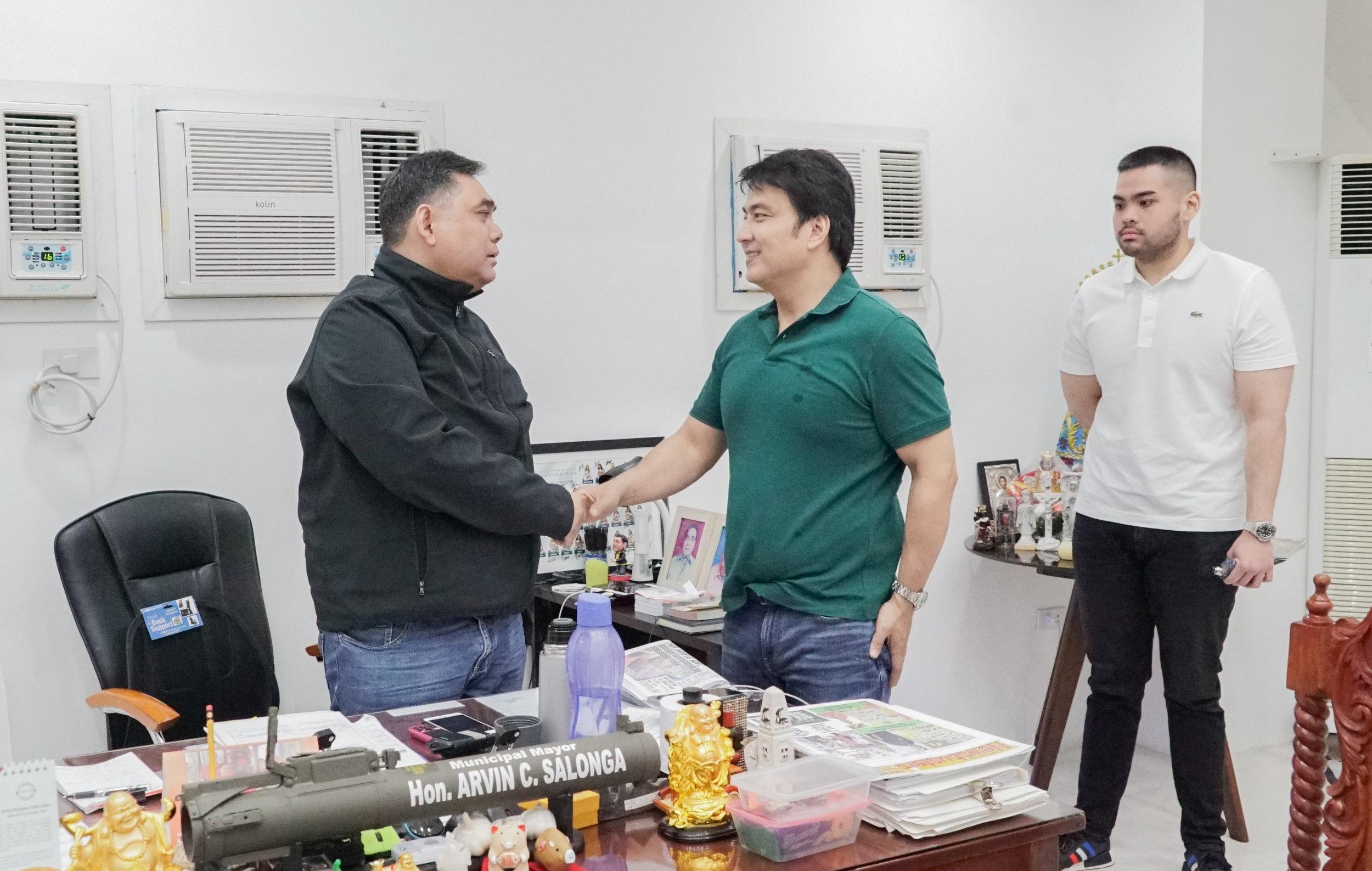 Mayor Arvin Salonga, Nueva Ecija - January 16, 2019