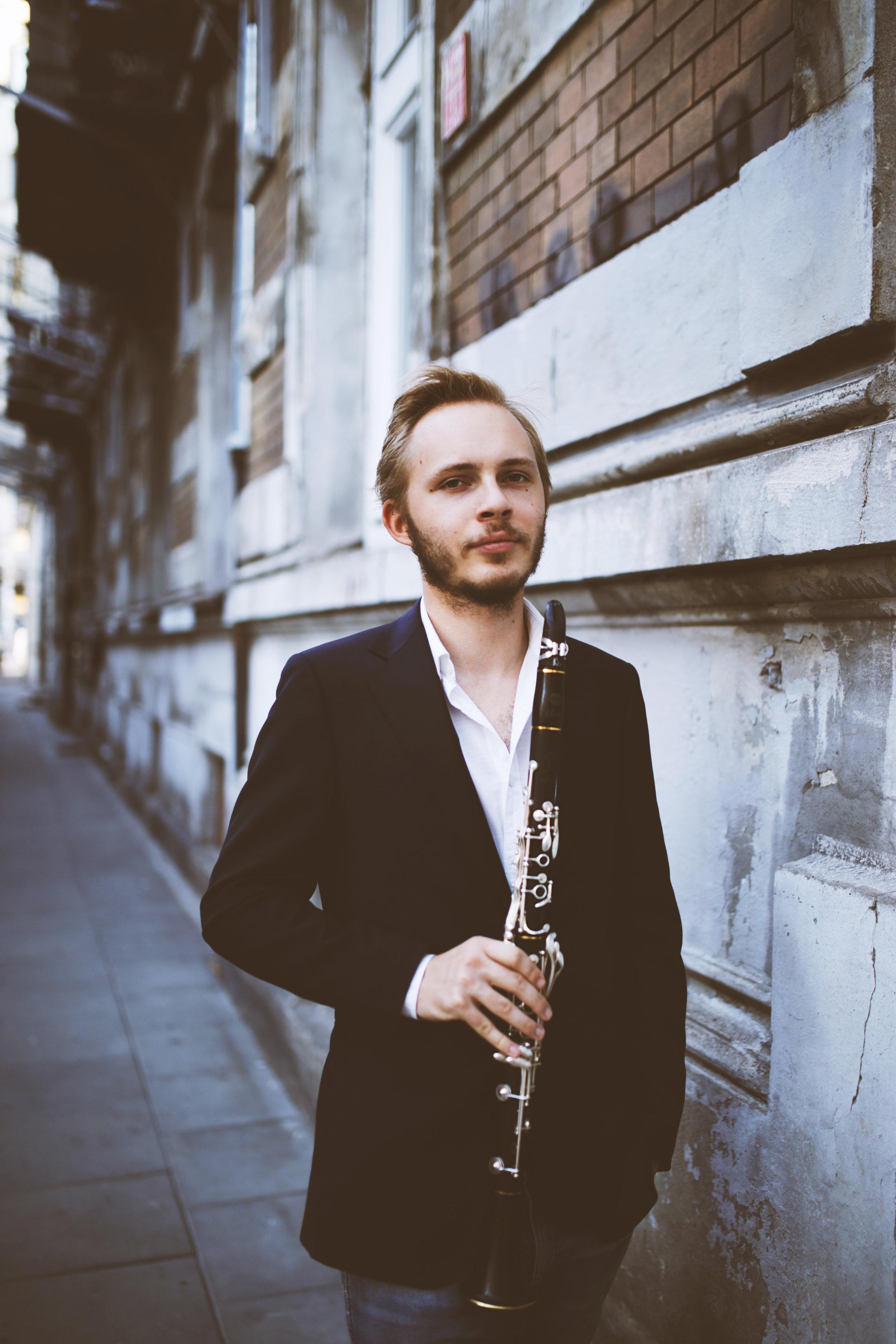 Ignacy Siarkowski - Clarinetist