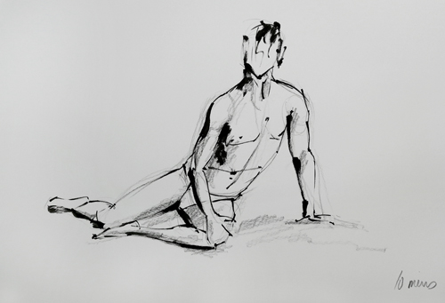 Life Drawing Sketch Laura Hope