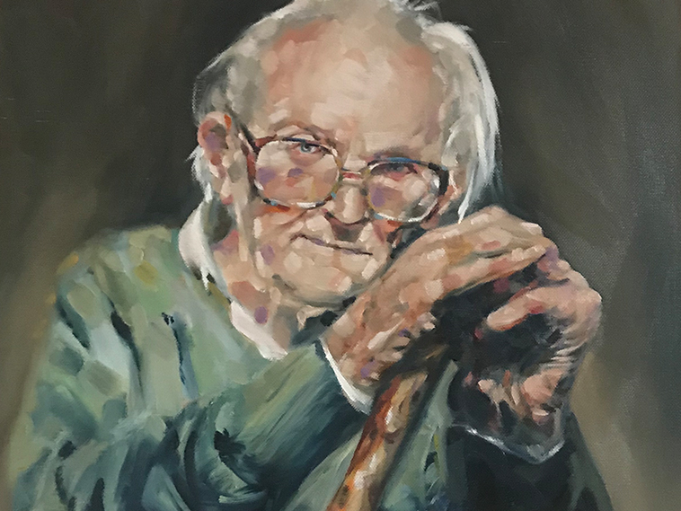 Michael Foot by Andy Walmsley