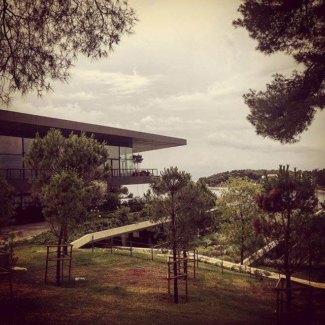 Inspirational visit: The newly opened Grand Park Hotel Rovinj is the biggest hotel investment in Croatia in the last few years, design by 3LHD Architects and the interior design by the renowned Milan office Lissoni Associati - brilliant attention to detail. #architecture #interiordesign  #3lhdarchitects @3lhd #grandparkhotelrovinj