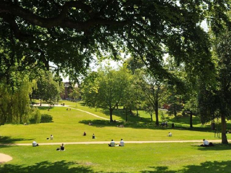 Winckley Square Gardens, Preston
