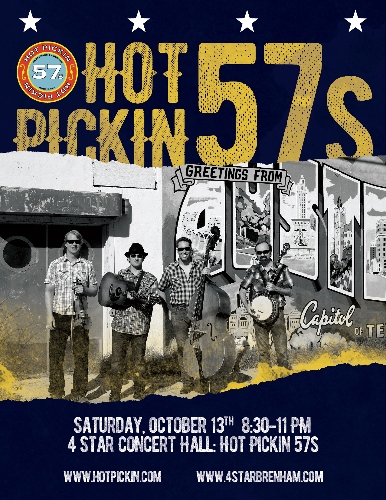Hot Pickin 57s play 4 Star Concert Hall