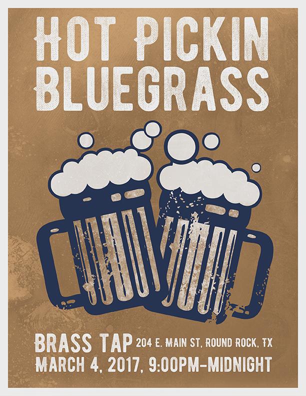 Hot Pickin 57s play Brass Tap