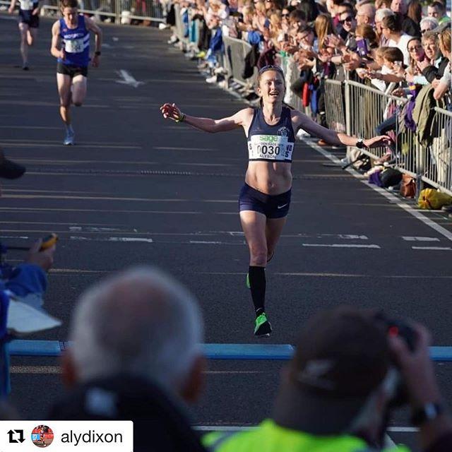 Congratulations to @alydixon on winning her 3rd @blaydonrace1862 at the weekend.  #thisgirlcan  #strengthandconditioning #strengthtrainingforrunners #nikeathlete #FITGosforth #northeastgym #blaydonrace