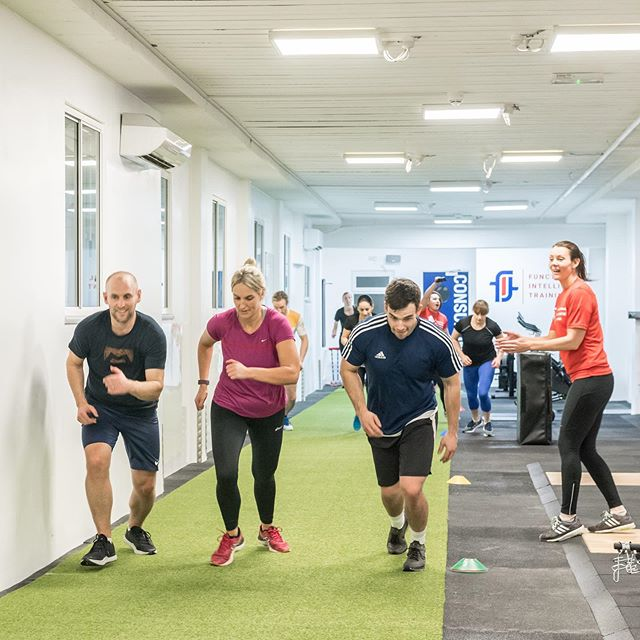 Watch out for this week's posts dedicated to F.I.T Group Classes. ⠀ 🔴 These a group training sessions of up to 12 clients lasting 45 minutes with one of our strength and conditioning coaches. ⠀ 🔵 Every day has a different training focus so that you're working on a range of physical qualities; Strength Focus - Monday and Thursday Conditioning Focus - Tuesday and Friday Movement Focus - Wednesday ⠀ 🔴 We offer F.I.T Group only packages as well as open these sessions to our semi-private clients. ⠀ 🔵 If you are interested in giving F.I.T group a go, please get in touch for a free trial session with no obligations at  info@fitnorth.co.uk or 01916 452535 ⠀ #strengthandconditioning #grouptraining #strength #conditioning #movement #gosforth #gym #northeast
