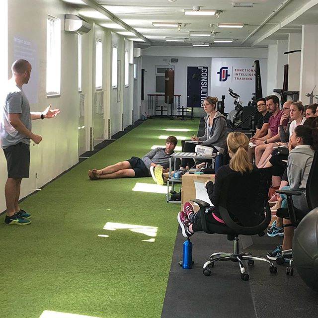 Great having @zer0226 deliver a workshop at the gym this weekend. Integrating S&C into injury rehabilitation #rehab #strengthandconditioning #fitnorth #injuryrehab #sportsinjury #physiotherapy #learning #cpd #bebetter