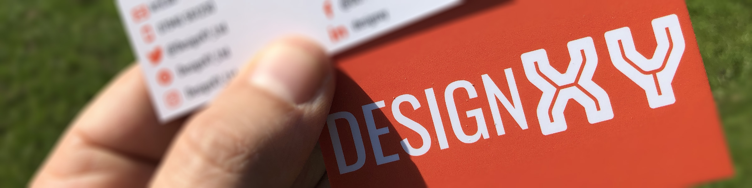 DesignXY business cards
