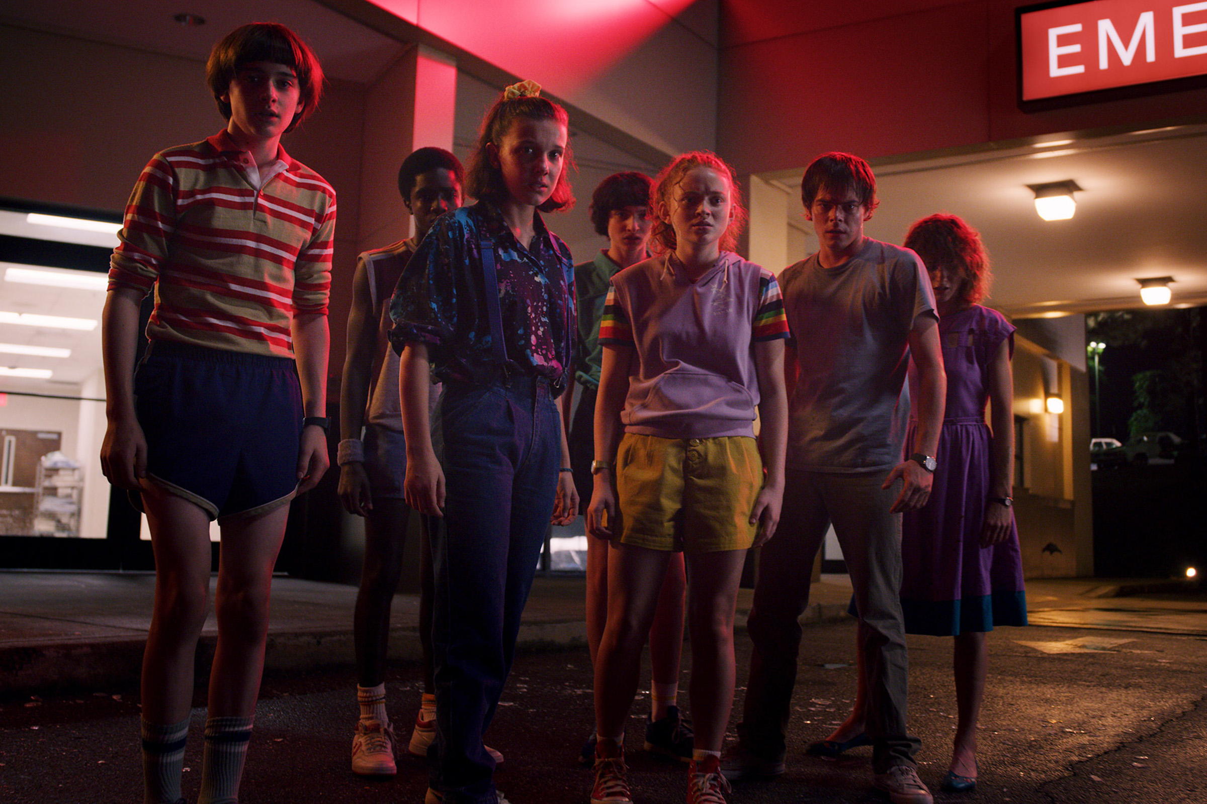 Will, Lucas, Eleven, Mike, Max, Jonathan and Nancy; the 'kids' of Stranger Things act with an agency beyond their respective years