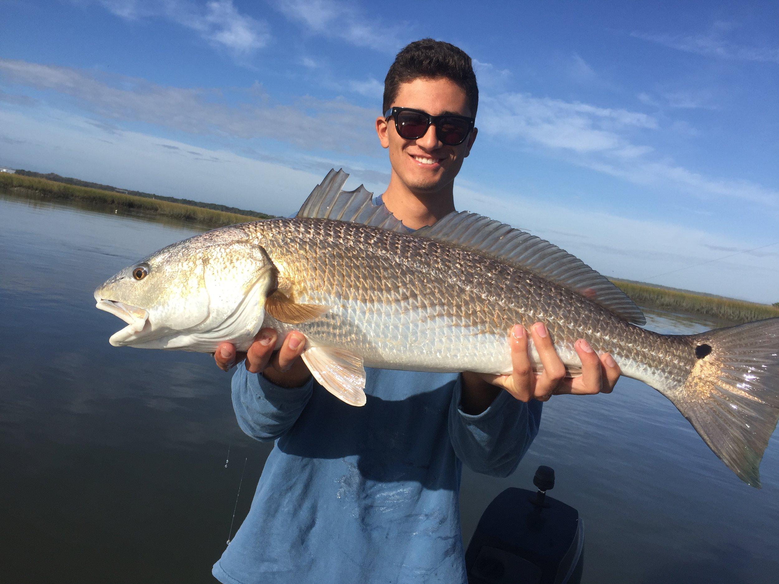 Winter time Redfish in Ponte Vedra