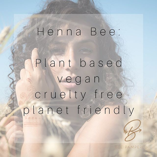 Haven't you heard, that Henna is the word?! • I very specifically chose this brand of Henna because it checked all things off on my checklist! • Canadian? ✅ Cruelty Free? ✅ Plant based with NO chemicals to activate? ✅ Easy to work with Product? ✅ Great customer support with access to online tutorials, pictures and videos? ✅✅✅ Bonus ⭐️ how cute is the packaging?! 💕  If you're thinking of adding Henna to your service, I urge you to check out @beepampered  If you're looking to see what all the hype is about, Book an appointment with me today