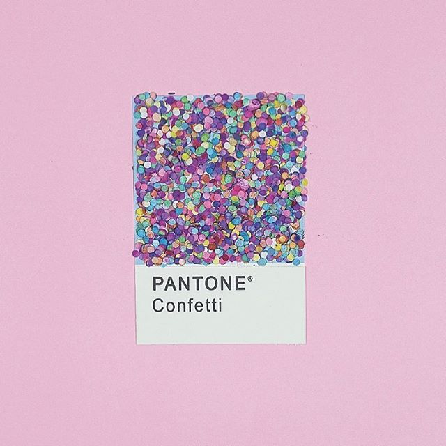 #inspired // Life's a party, Live it up! ____________________ pantone art inspo by @besinalart . . . #Confetti #Pantone #art #jorandalaexanderjewelry