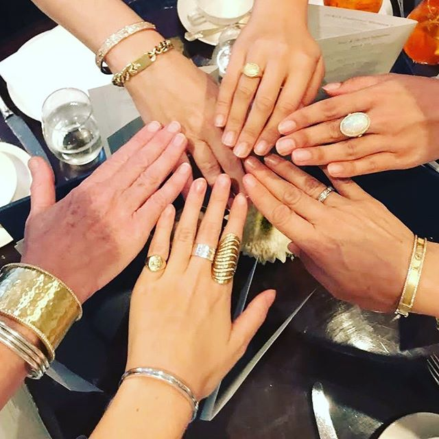 Teamwork makes the dream work! Amazing meeting with @grifcopr yesterday, who doesn't love to dazzle in diamonds?  We're excited for what's to come! . . . #jordanalexanderjewelry #love #opal #18kgold #ventring #chainlink #Bangle #diamond #signetring #london