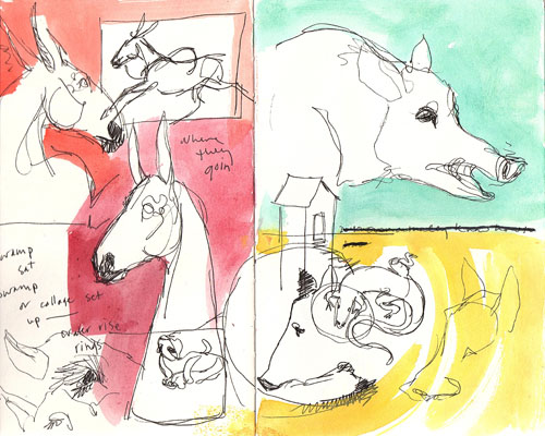 churchgoinmulesketchbook2
