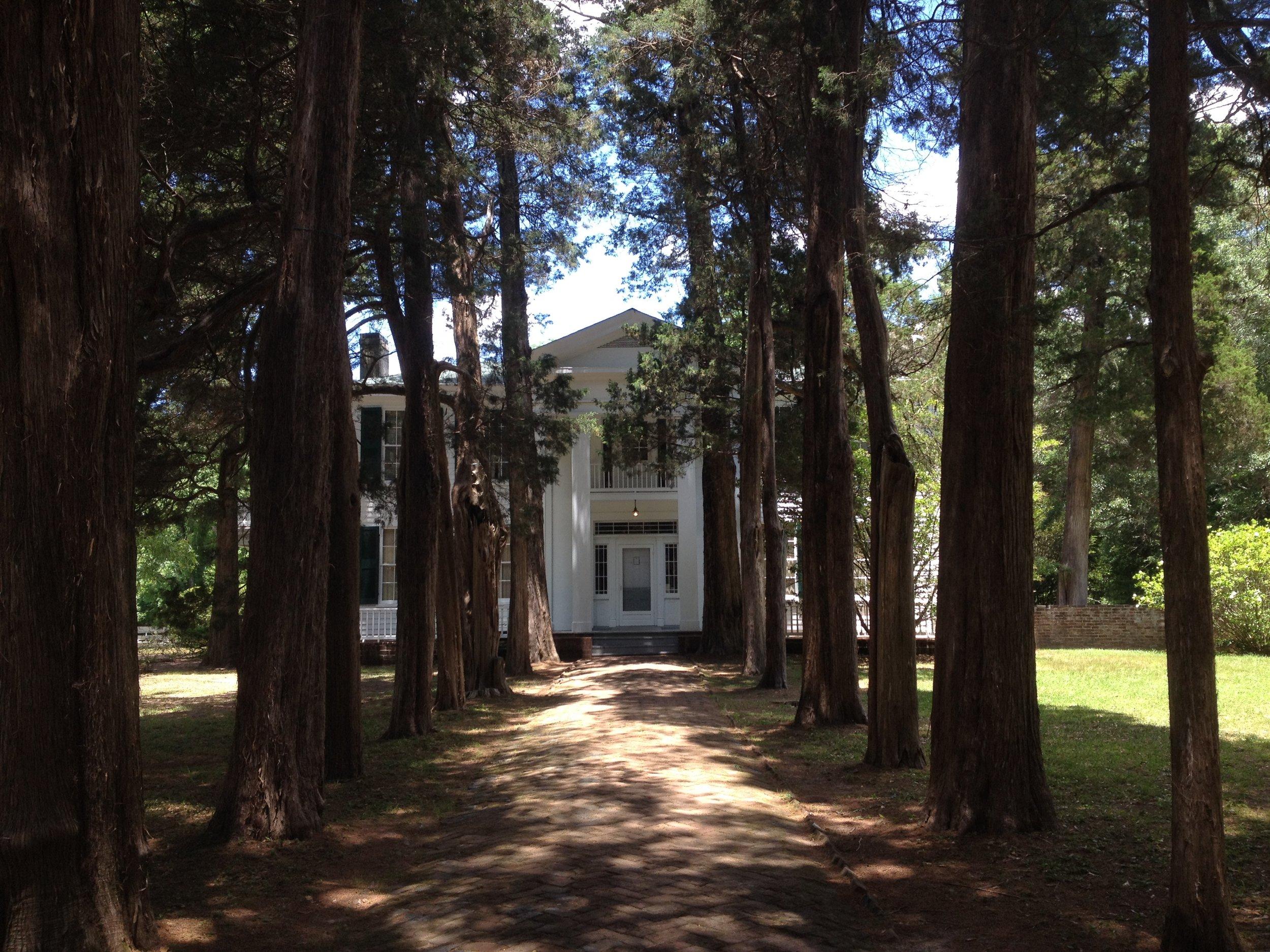 William Faulkner's home, Rowan Oak, in Oxford, Mississippi.