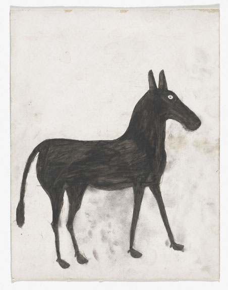 Raw art by Bill Traylor from  https://www.moma.org/artists/7464?=undefined&page=1&direction=