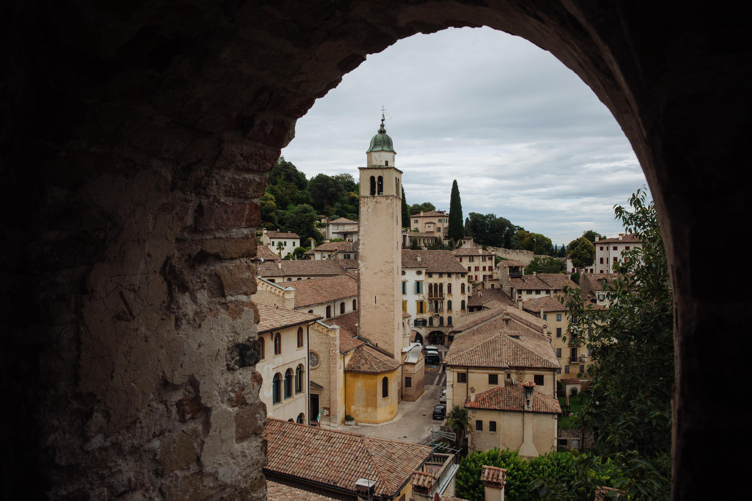 """Gianfrancesco Malipiero - """"At the top of the Fortress is feels as though you are at the top of a diamond, where every facet inspires an iridescent panorama."""""""