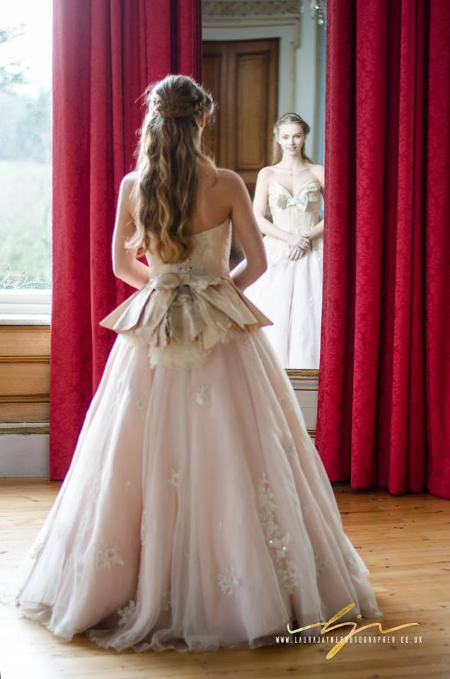 Bride in the Drawing Room