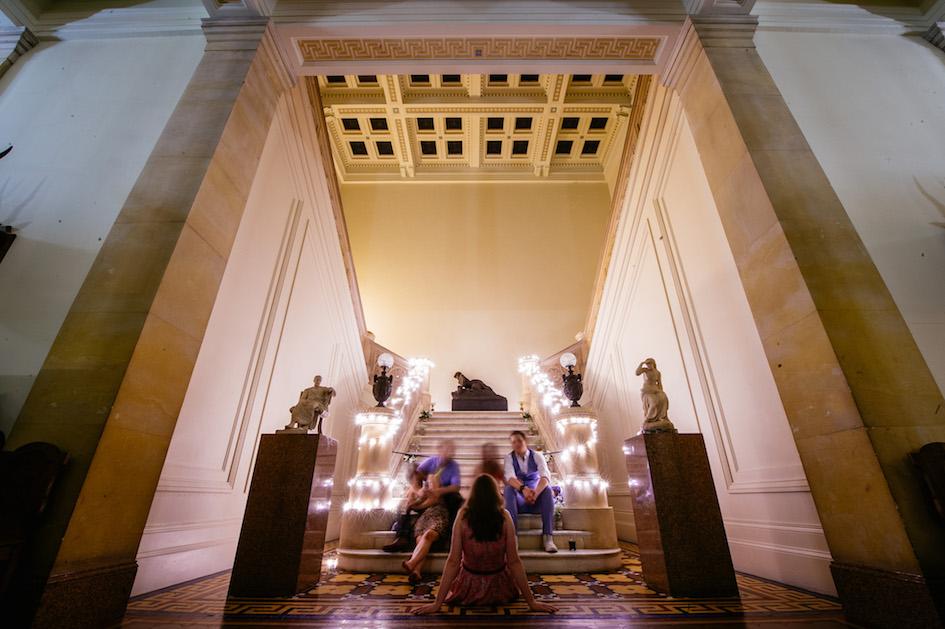 The Atrium At Night