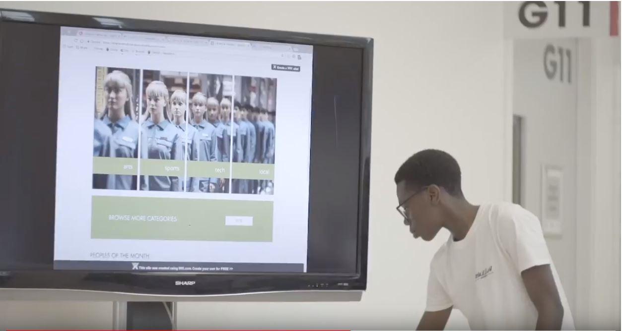 """Why I got involved with the Cohesion Hackathon"" Ebenezer's story"