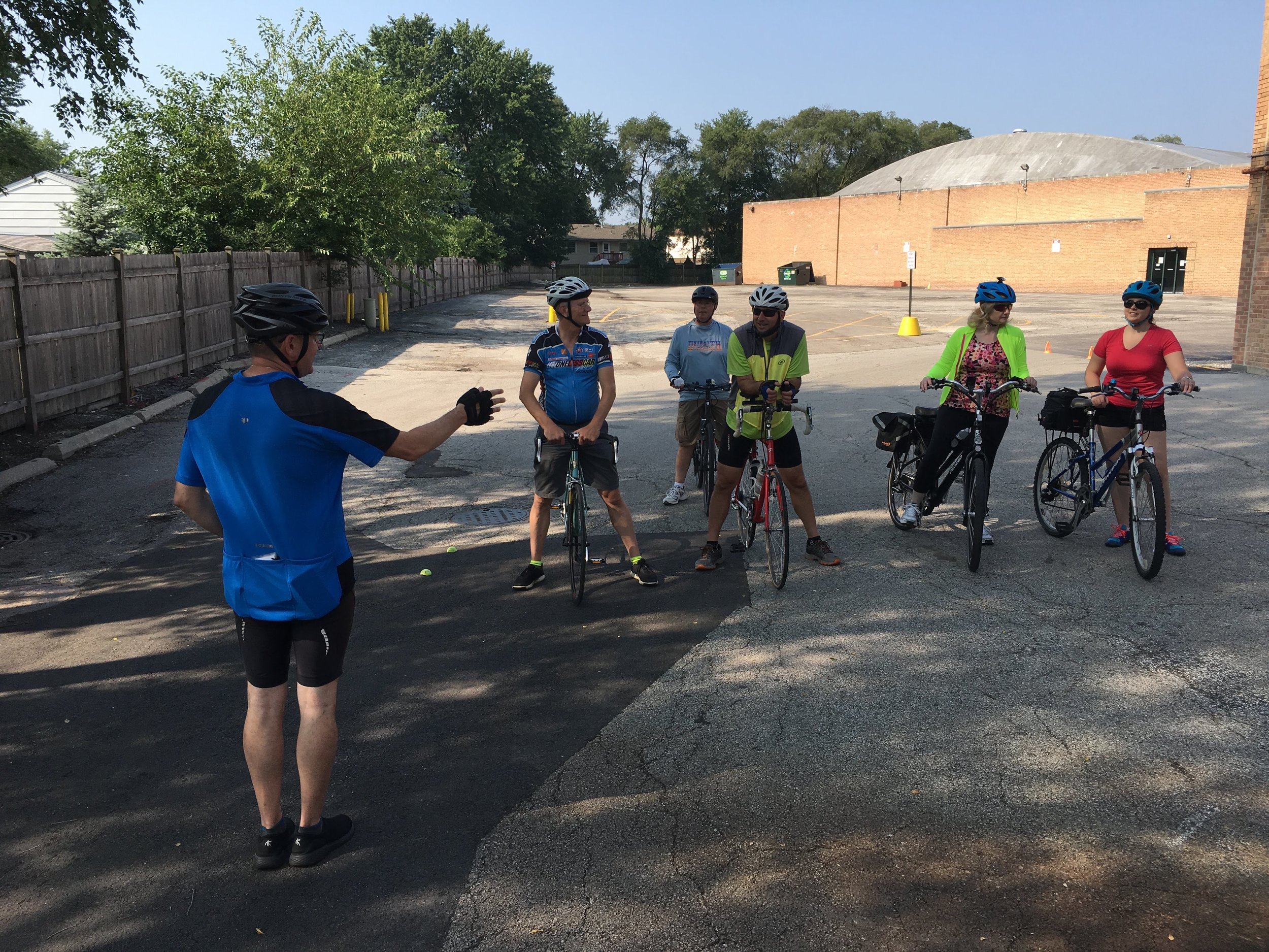 Bicycle Training Programs