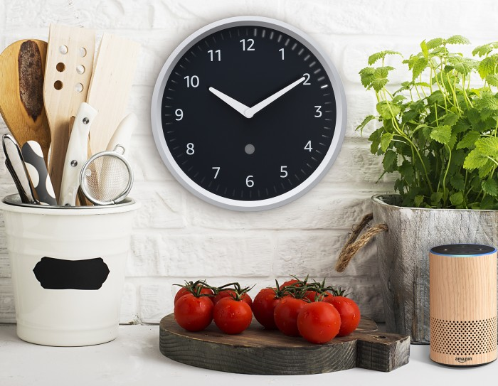 The forthcoming Echo Wall Clock from Amazon