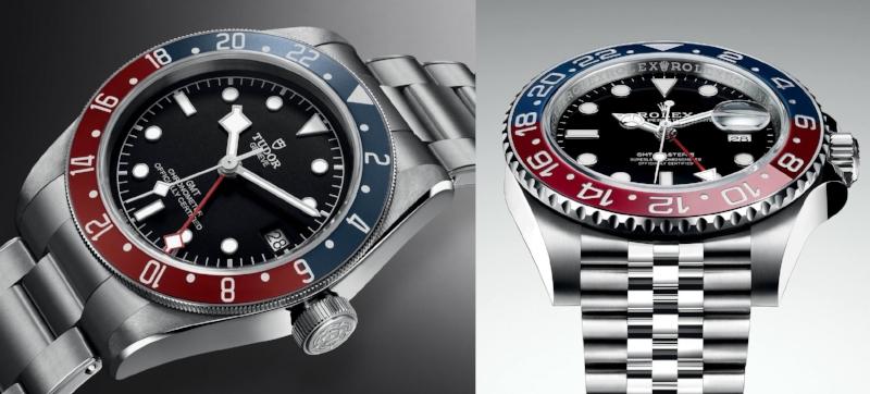 Tudor-Rolex GMT Comparison